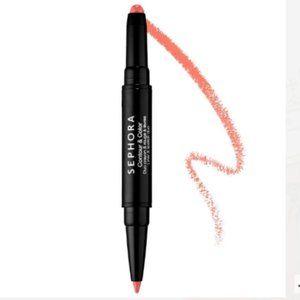 Sephora Contour&Color Liner & Lipstick Duo 02 PINK